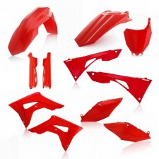 New Acerbis Plastic Kit CRF 450 R 2019 19 Plastics All Red Motocross CRF450